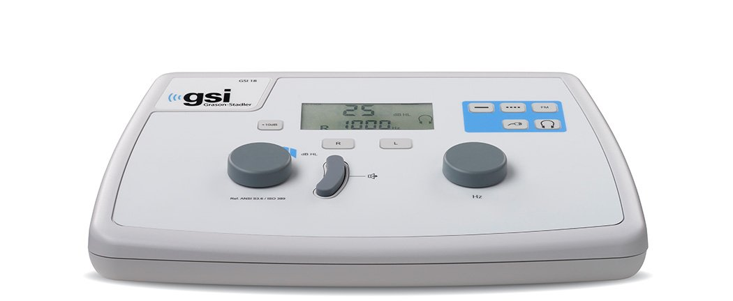 GSI 18 Portable Screening Audiometer