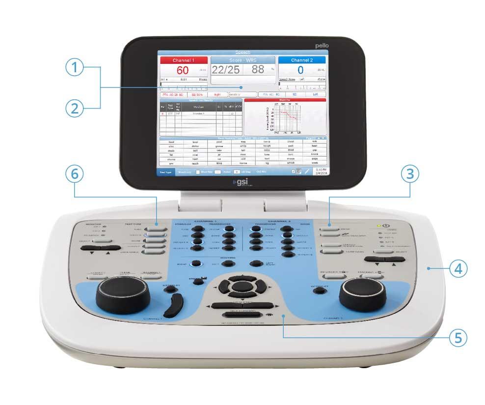 Pello Audiometer Key Features