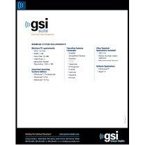 GSI Suite Datasheet