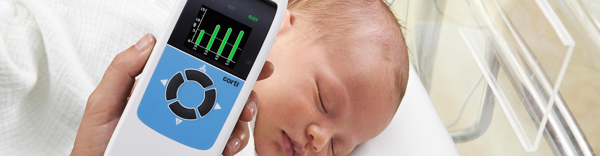 GSI Corti Otoacoustic Emissions Infant Testing